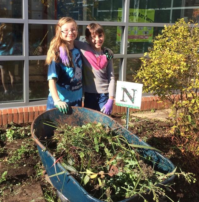 Discovery School Yard Garden Work Days
