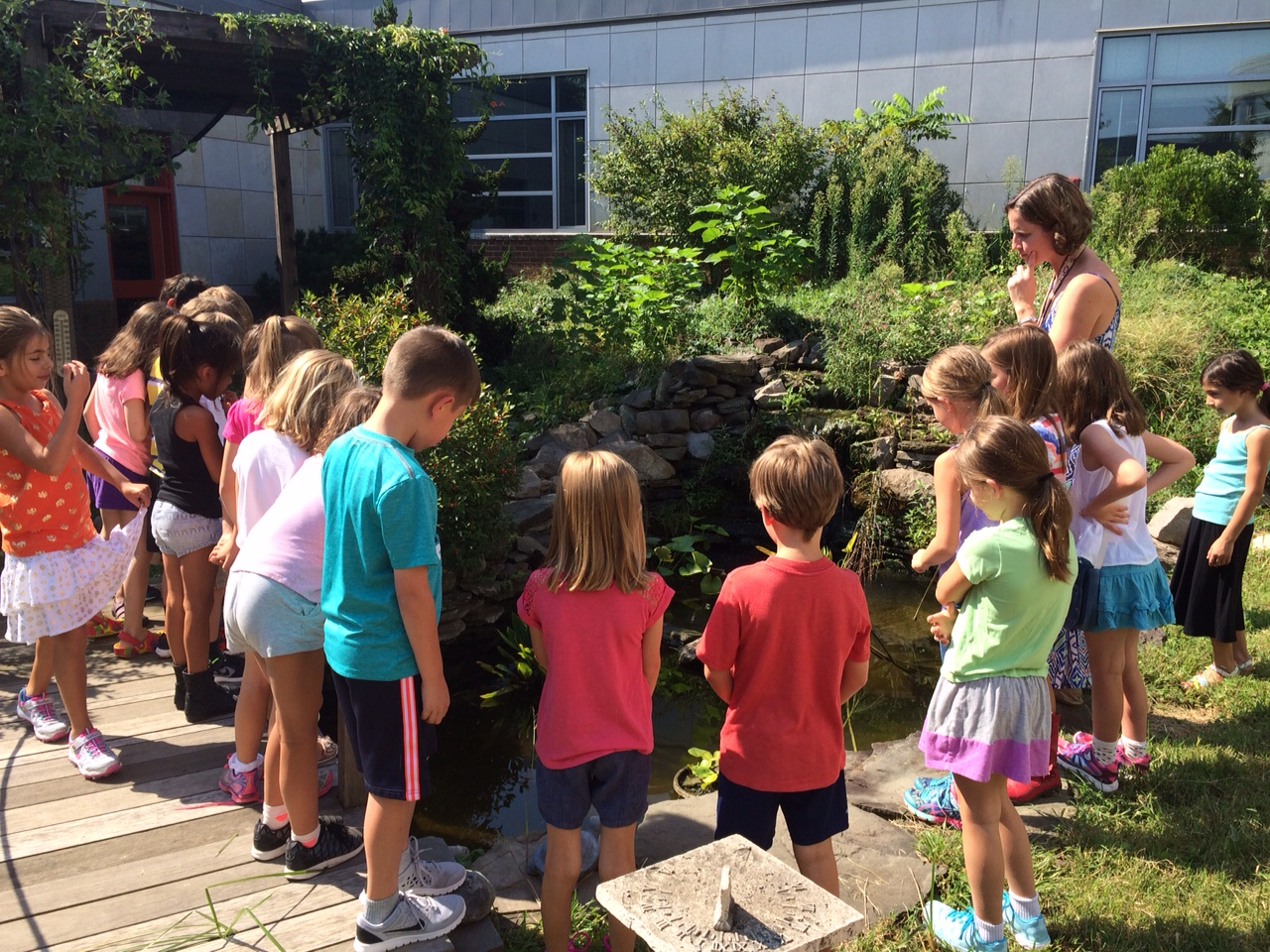 Learning Always Takes Place in our Courtyard