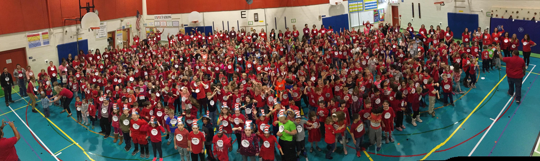 Tuckahoe Celebrates Read Across America Day!