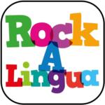 Rockalingua colorful logo