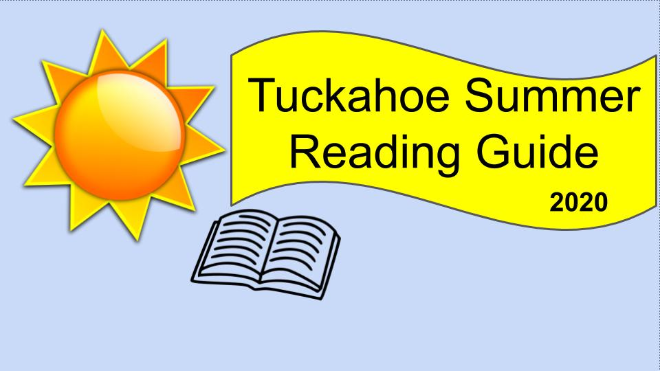 Enjoy your summer and keep reading!