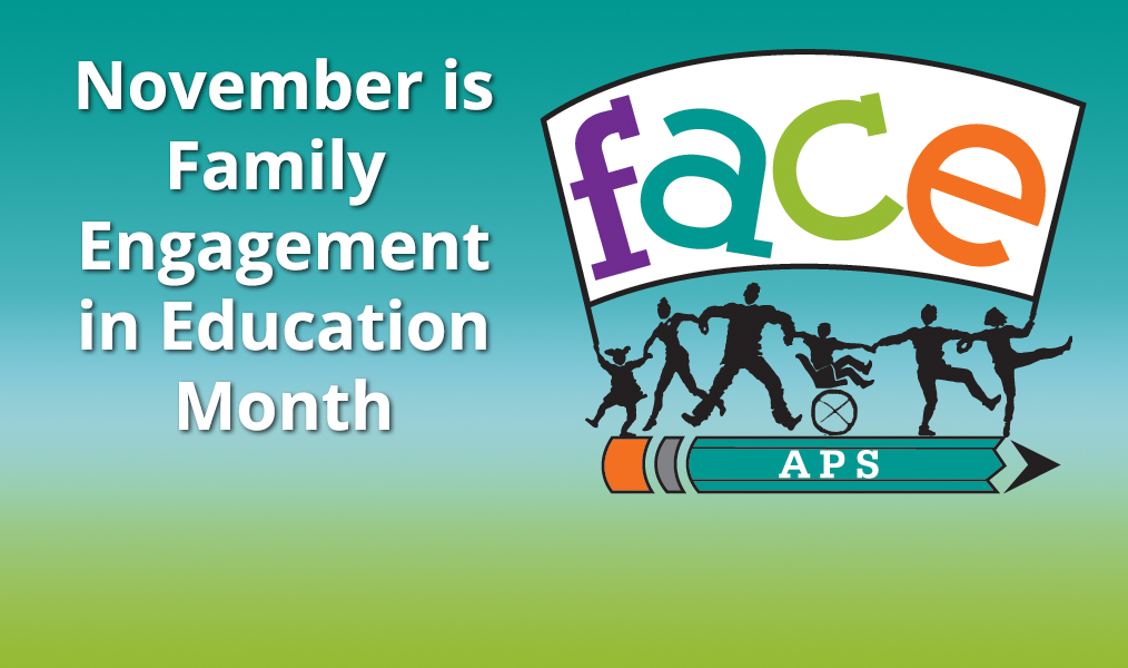 November is Family Engagement Month