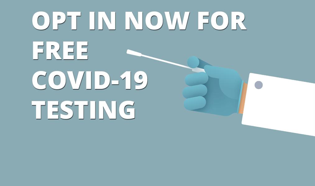 Зарегистрируйтесь сейчас для тестирования на COVID-19